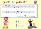 La pizarra musical | Recurso educativo 38723