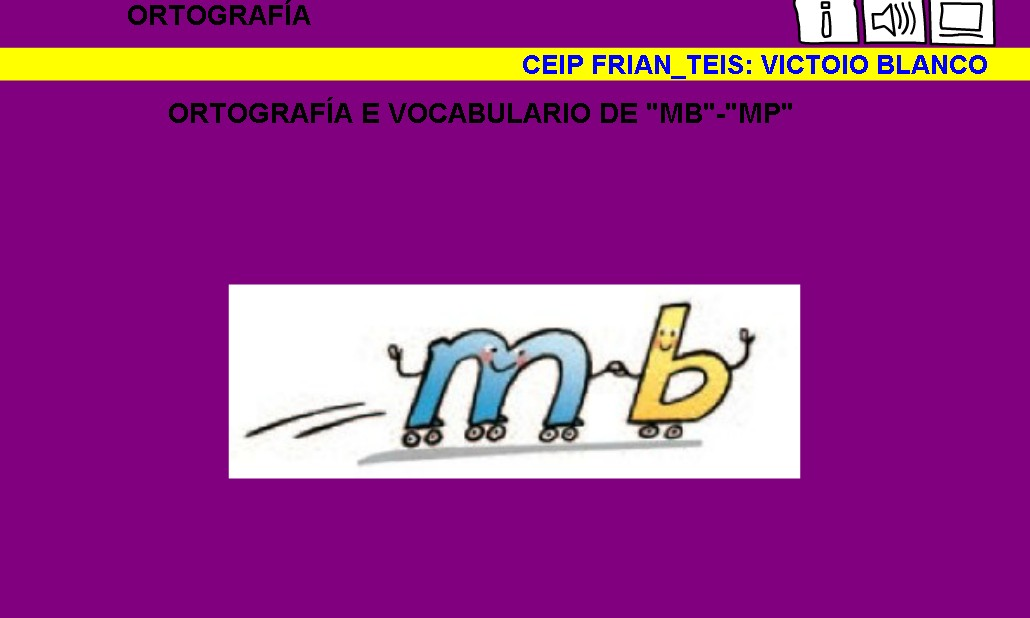 Ortografía mb-mp | Recurso educativo 41791