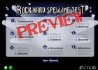 Rock Hard spelling test | Recurso educativo 42016