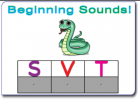 Beginning sounds | Recurso educativo 45503