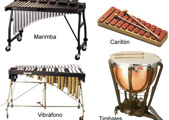 Instrumentos de percusion con sus nombres - Imagui