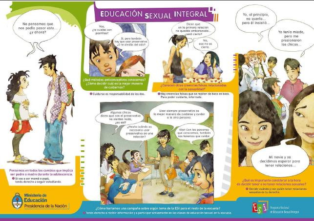 Educación Sexual Integral | Recurso educativo 46918