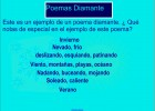 Poemas Diamante | Recurso educativo 48839