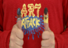 Art Attack: Títeres de dedos | Recurso educativo 54759