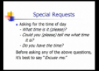 Video: Special requests | Recurso educativo 54883