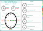 Interactive Book: Time and Daily Routines | Recurso educativo 22043