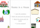Rooms in a house | Recurso educativo 22314