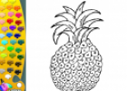 ¡A Colorear Frutas!: Piña | Recurso educativo 28614