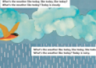 Story: What's the weather like? | Recurso educativo 63067
