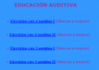 Educación auditiva | Recurso educativo 69667