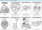 Mother's day colouring pages | Recurso educativo 70243