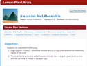 Alexander and Alexandria | Recurso educativo 70678