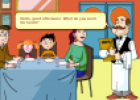 At the restaurant | Recurso educativo 71168