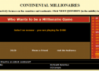 Game: Continental millionaires | Recurso educativo 76648