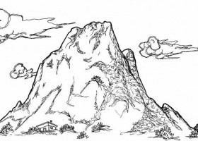 Dibujos De Paisajes Para Colorear Recurso Educativo 103156