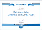 Curso de Marketing Digital para Pymes | MasSaber | Recurso educativo 114105