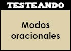 Modos oracionales | Recurso educativo 46929