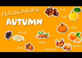 Inglés para niños - Otoño - Autumn - Flashcards for Kids | Recurso educativo 757112