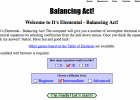 It's Elemental - Balancing Act! | Recurso educativo 762572
